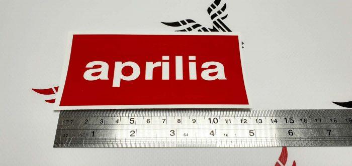 Наклейка логотип Aprilia