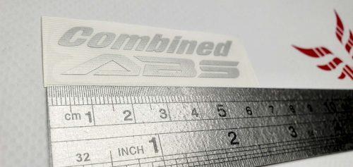 Наклейка Combined ABS 6см