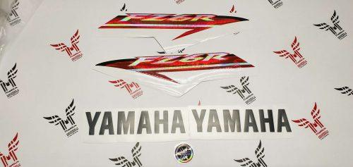 Комплект наклеек Yamaha FZ-6R 2009-2015 LIGHT Радужный хром