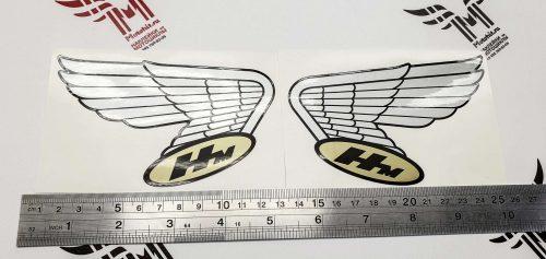 Комплект ретро крыльев на бак Honda