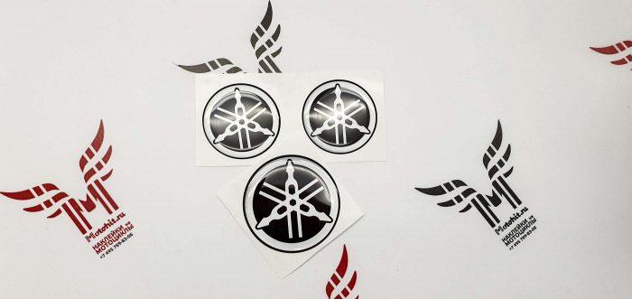 Комплект объёмных наклеек на бак Yamaha