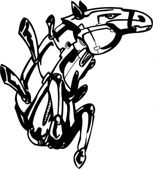 HORSE-ROBOT-009