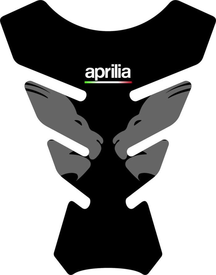 3D Наклейка на бак Aprilia Silver Lion 004