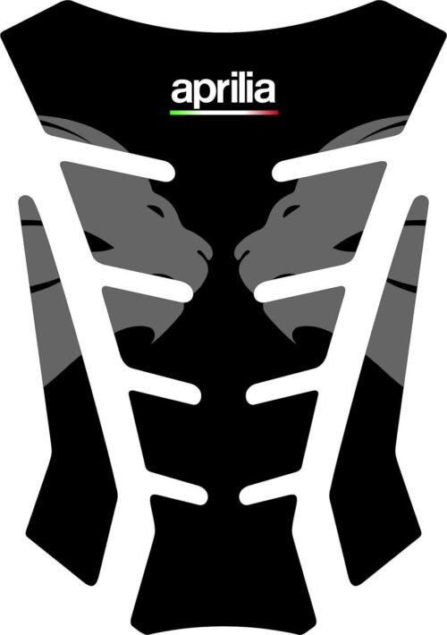 3D Наклейка на бак Aprilia Silver Lion 006