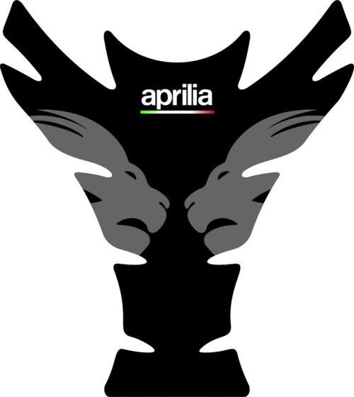 3D Наклейка на бак Aprilia Silver Lion 007
