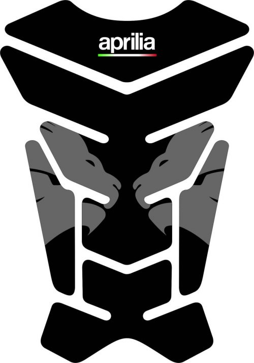 3D Наклейка на бак Aprilia Silver Lion 008