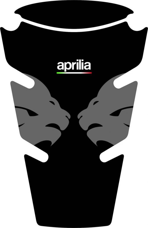 3D Наклейка на бак Aprilia Silver Lion 013