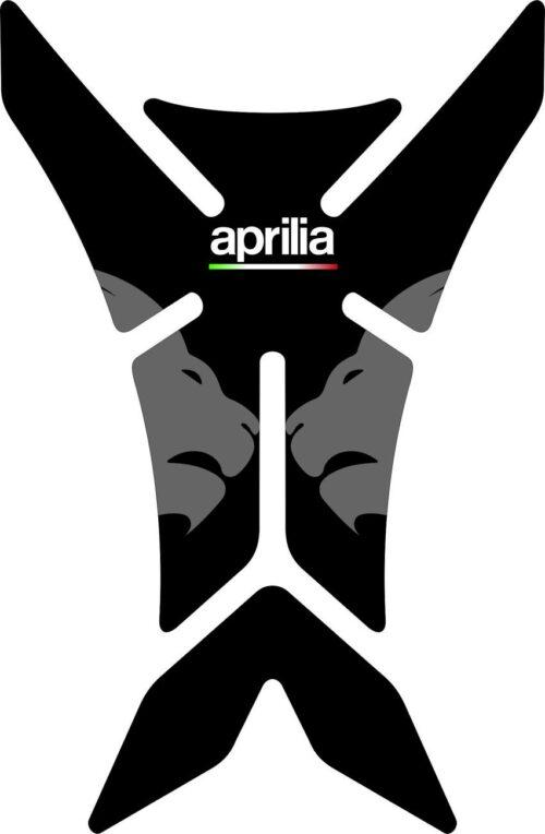 3D Наклейка на бак Aprilia Silver Lion 019