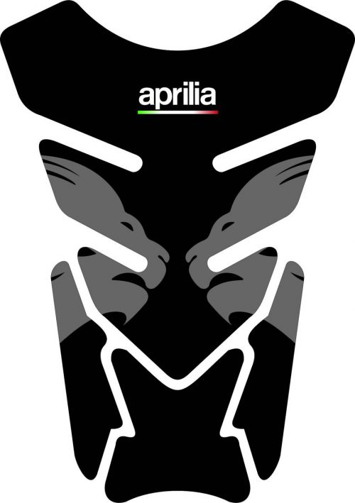 3D Наклейка на бак Aprilia Silver Lion 023