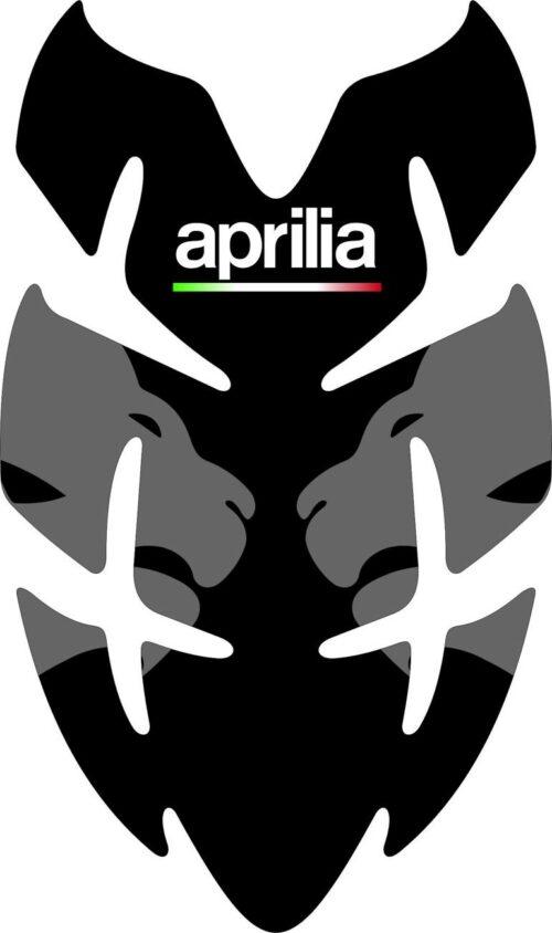 3D Наклейка на бак Aprilia Silver Lion 025