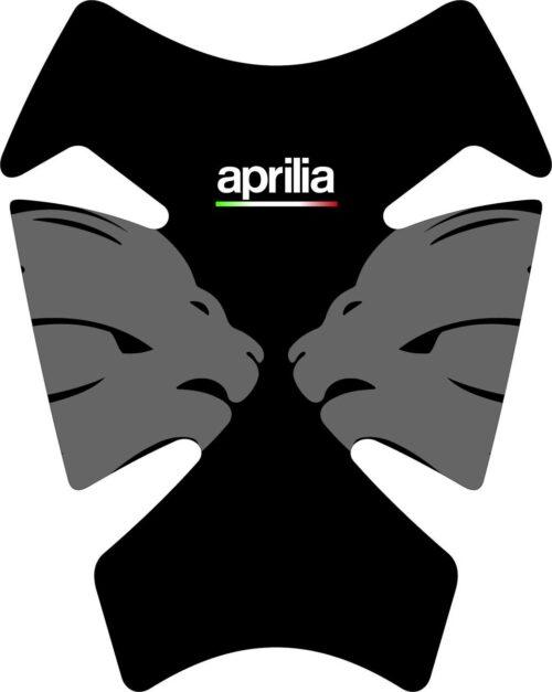 3D Наклейка на бак Aprilia Silver Lion 029