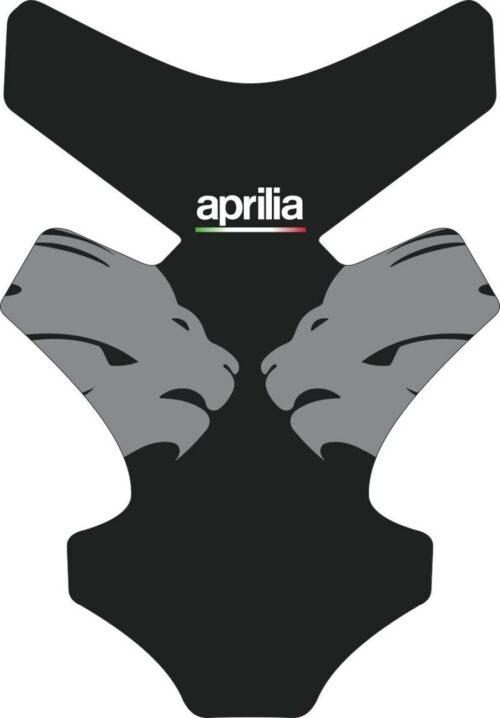 3D Наклейка на бак Aprilia Silver Lion 037