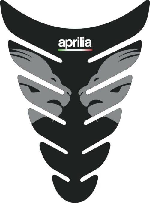 3D Наклейка на бак Aprilia Silver Lion 038