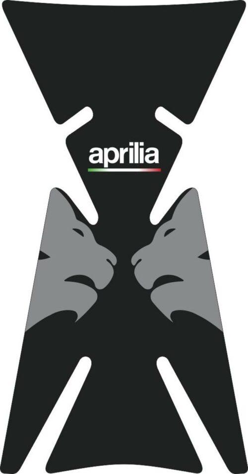 3D Наклейка на бак Aprilia Silver Lion 041