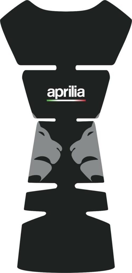 3D Наклейка на бак Aprilia Silver Lion 042