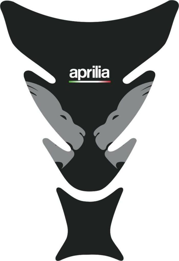 3D Наклейка на бак Aprilia Silver Lion 043