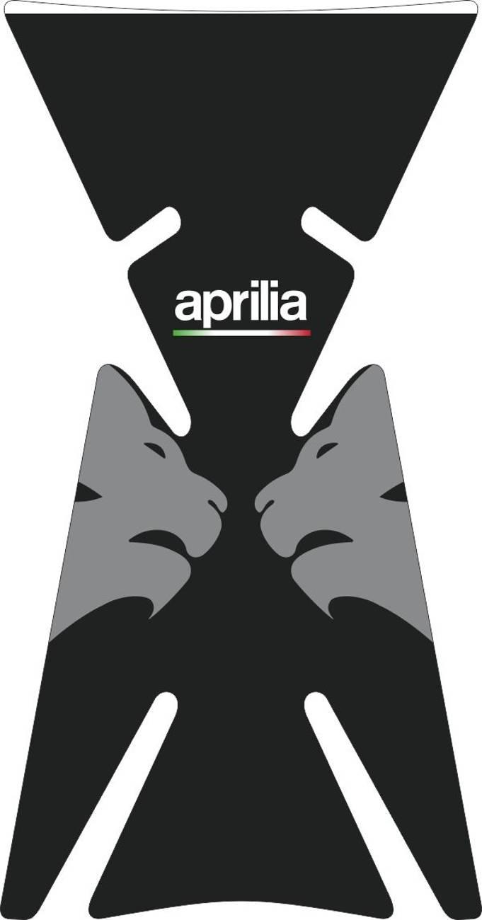 3D Наклейка на бак Aprilia Silver Lion 050