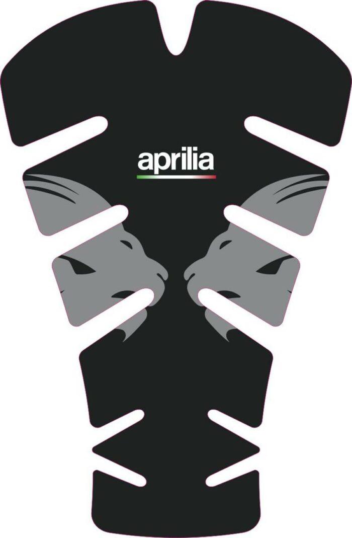 3D Наклейка на бак Aprilia Silver Lion 054