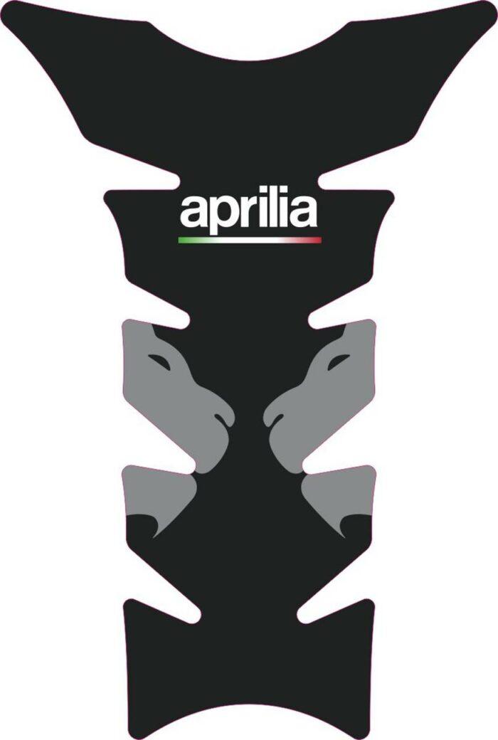 3D Наклейка на бак Aprilia Silver Lion 059