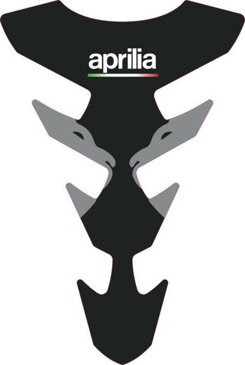 3D Наклейка на бак Aprilia Silver Lion 060
