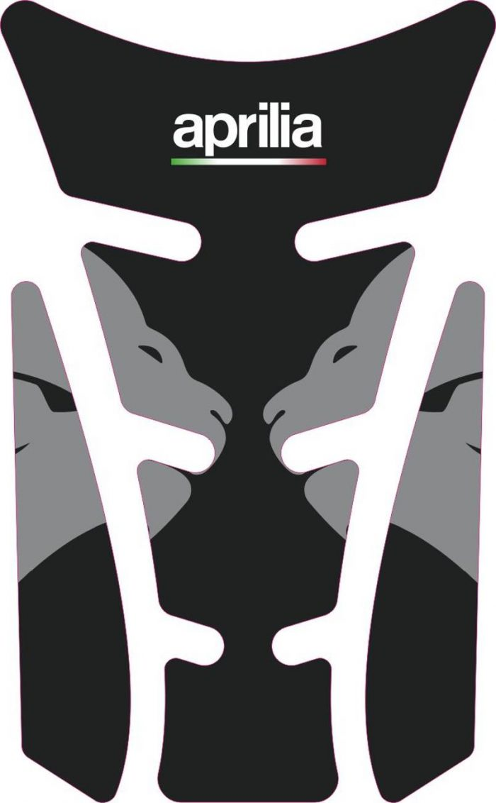 3D Наклейка на бак Aprilia Silver Lion 061