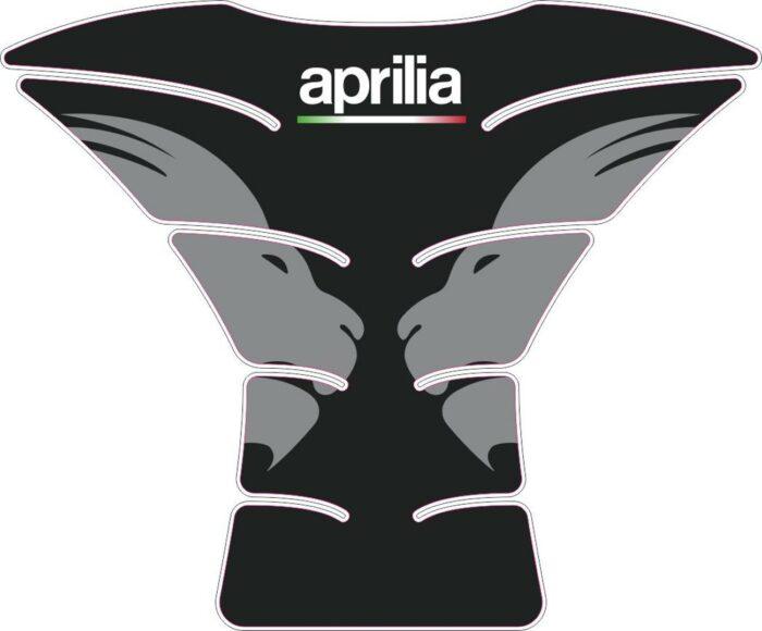 3D Наклейка на бак Aprilia Silver Lion 068
