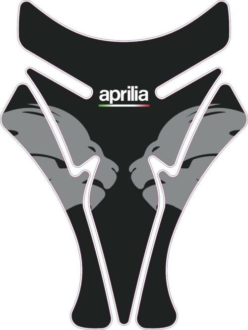 3D Наклейка на бак Aprilia Silver Lion 070