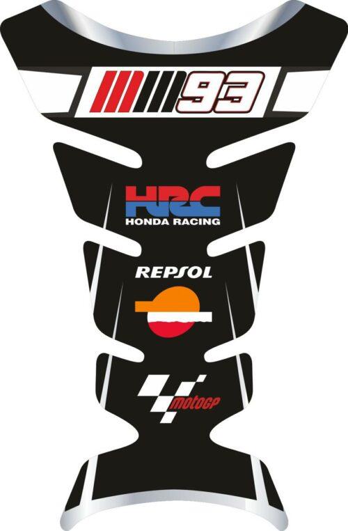 3D объёмная наклейка на бак Honda-repsol-mm93