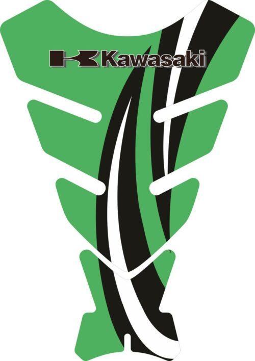 Объёмные 3D наклейки на бак Kawasaki 2-TANK-PAD-055