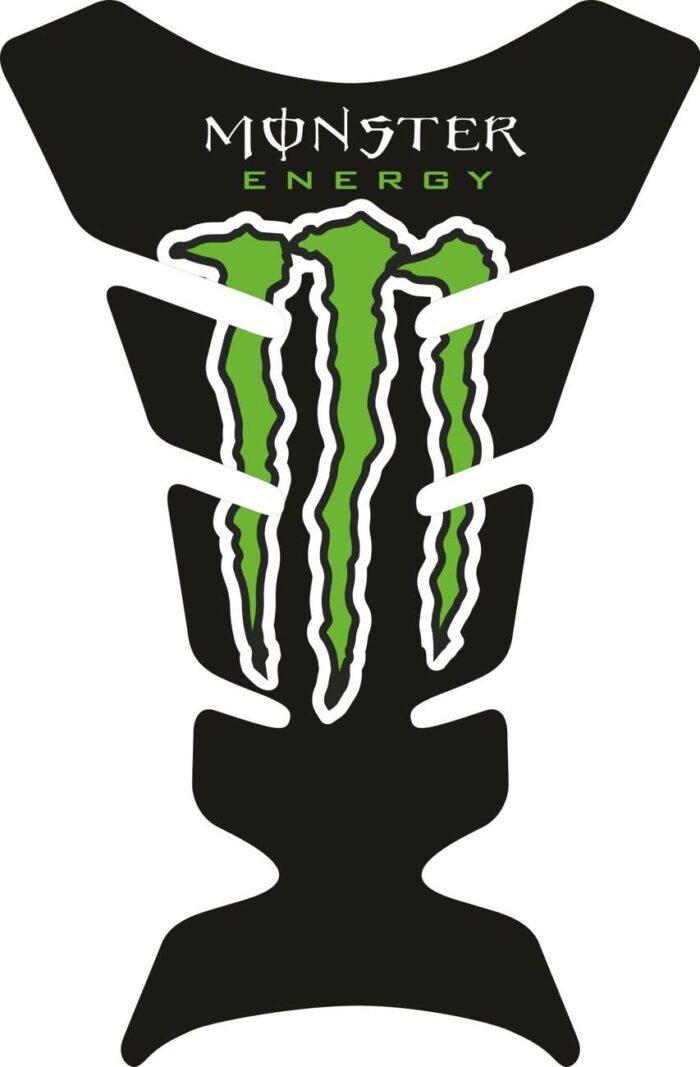 Объёмные 3D наклейки на бак Kawasaki monster-energy