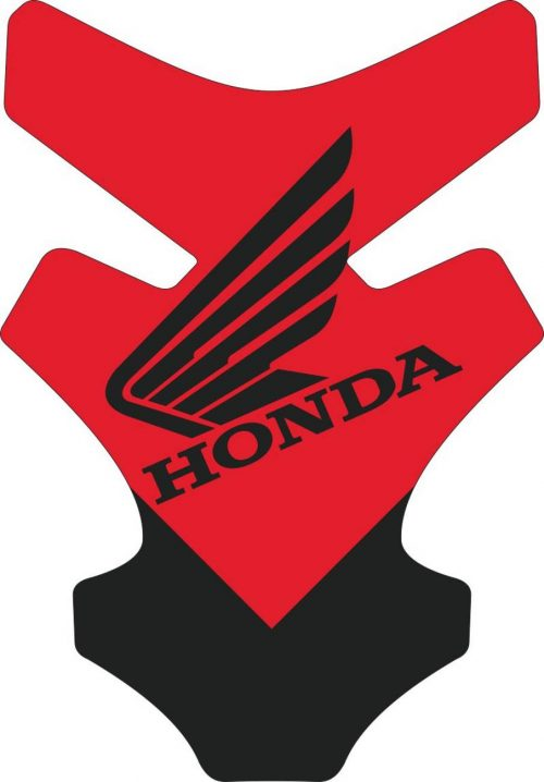 3D Наклейка на бак Honda Red & wing 37