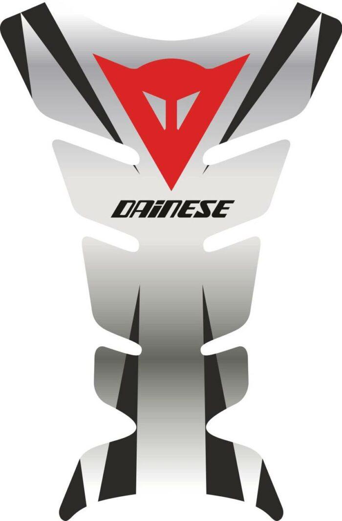 Объёмная 3D наклейка на бак мотоцикла Dainese