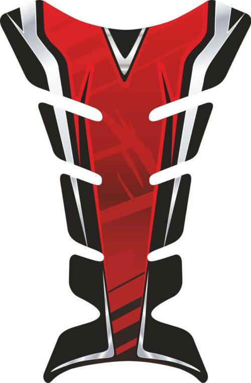 Объёмная 3D наклейка на бак мотоцикла Red-pulse