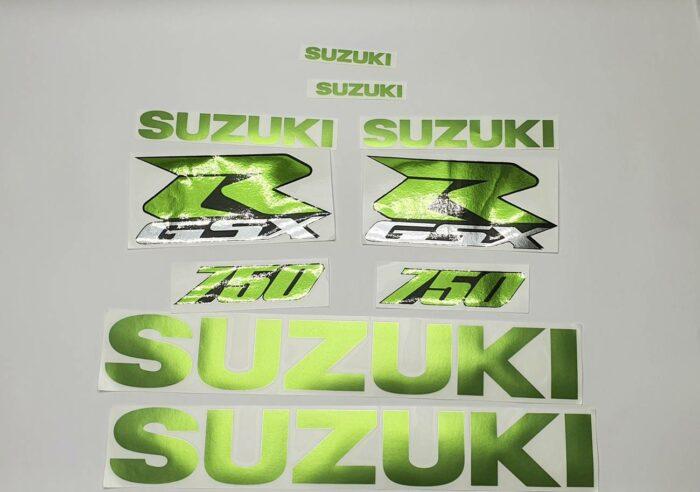 Комплект наклеек Suzuki GSX R