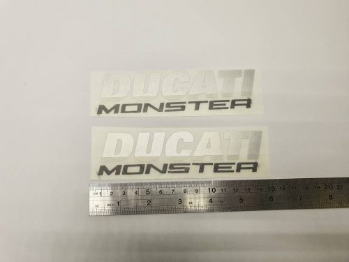 Надпись Ducati Monster
