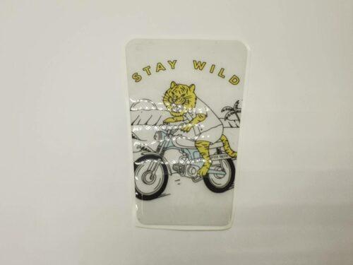 Наклейка на бак (tank pad) Stay Wild