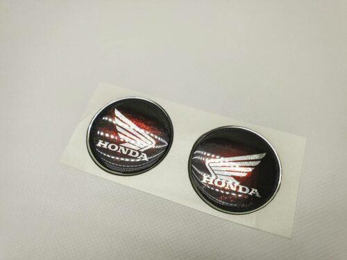 Комплект наклеек Honda объемных