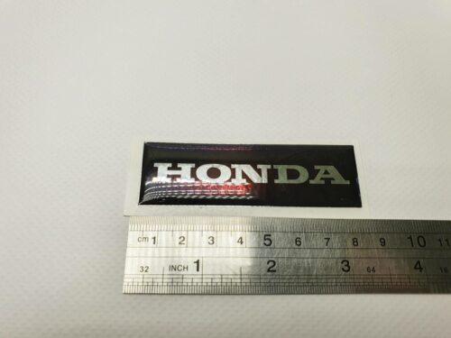 Наклейка Honda объемная