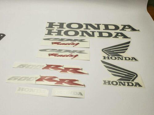 Комплект наклеек Honda 600 RR CBR Racing