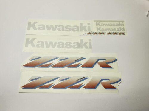 Комплект наклеек Kawasaki ZZR