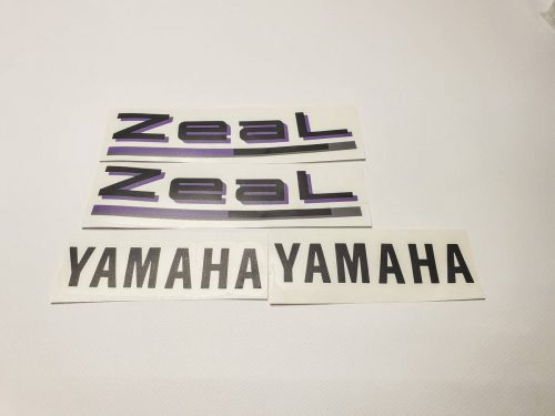 Комплект наклеек Yamaha Zeal